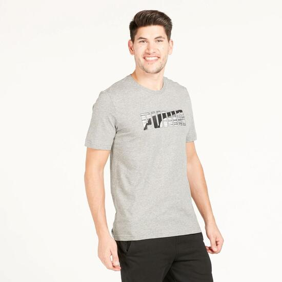 PUMA HERO Camiseta Gris Hombre