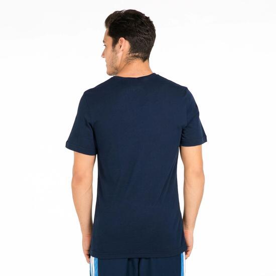 ADIDAS Camiseta Manga Corta Marino Hombre