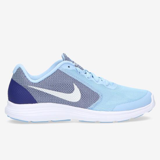 c033582bf Nike Revolution Zapatillas Running Celeste Niña - AZUL   Sprinter