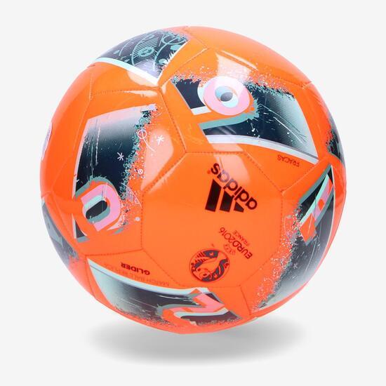 ADIDAS EURO 16 GLIDER Balón Fútbol Negro
