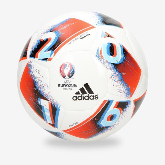 e308955d8b1 adidas Euro 16 Balón Fútbol Sala Blanco - BLANCO | Sprinter