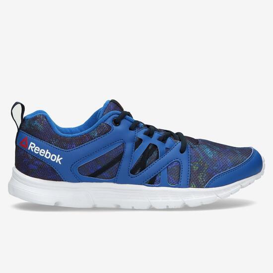 REEBOK Zapatillas Running Estampado Azul Mujer