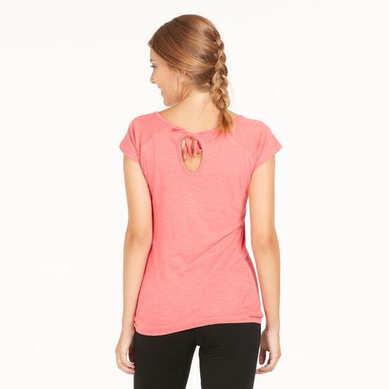 Camiseta Gym ILICO Fresa Mujer