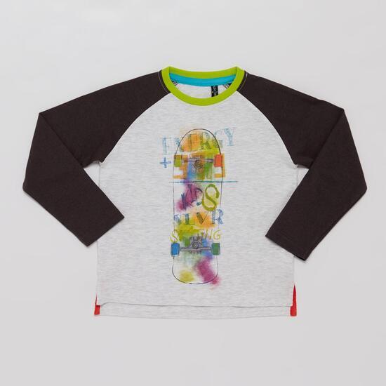 Camiseta Manga Larga SILVER CITY KID Blanco Niño (2-8)
