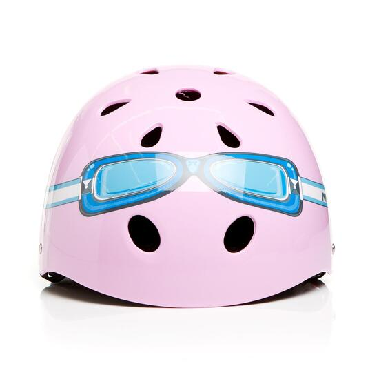 Casco Bici Niña MÍTICAL GOOGLES Rosa (XS)