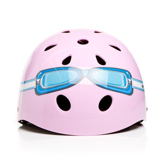 Casco Bici Niña MÍTICAL GOOGLES Rosa (S)