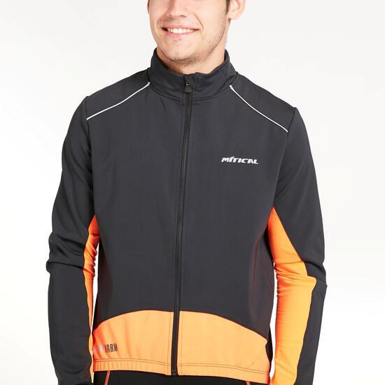 Chaqueta Ciclismo MÍTICAL ORO Negro Naranja Hombre