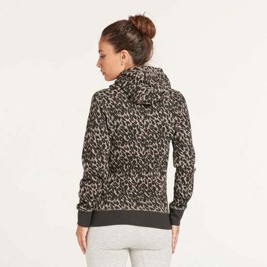 KELME Sudadera Leopardo Mujer