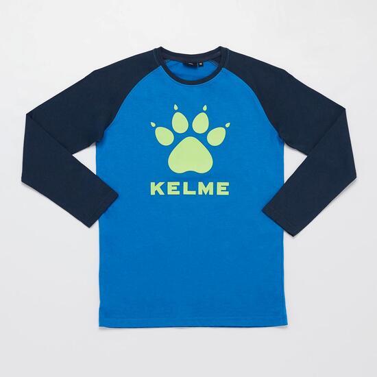 KELME Camiseta Manga Larga Azul Marino Niño (2-8)