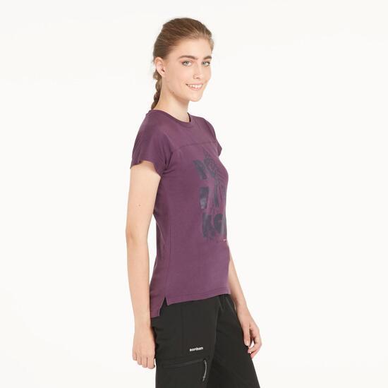 Camiseta Morada BORIKEN Mujer