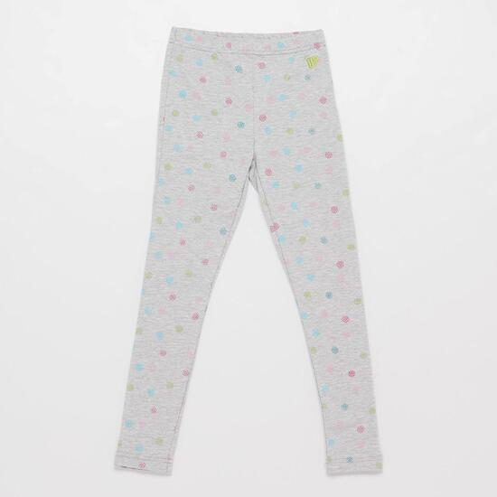 Leggins Estampados UP BASIC Grises Niña (2-8)