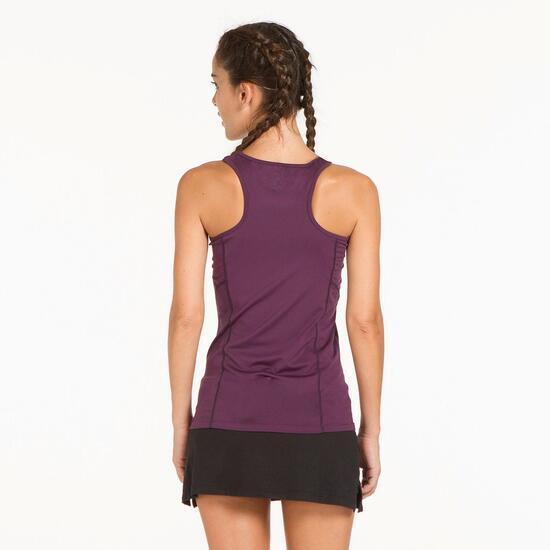 Camiseta Tenis PROTON Morado Mujer