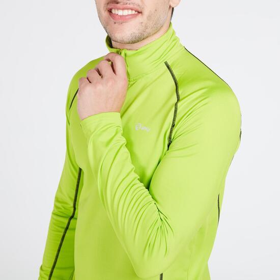Camiseta Compresión Manga Larga IPSO Verde Hombre