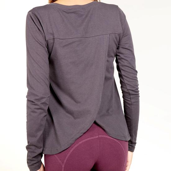 Camiseta Estampada SILVER STAMPS Gris Mujer