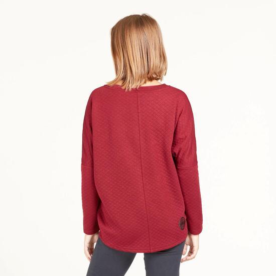 Camiseta Granate SILVER REBELLE Granate Mujer
