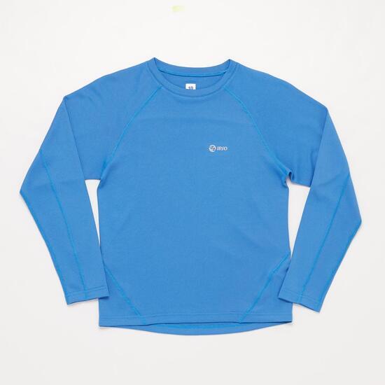 Camiseta Manga Larga Running IPSO Azul Niño (10-16)