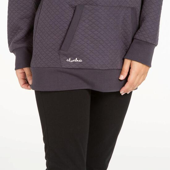 Sudadera Casual SILVER Gris Oscuro Mujer