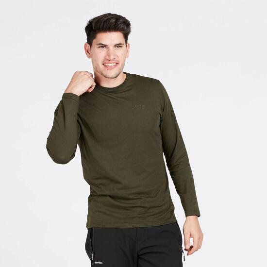 Camiseta Manga Larga BORIKEN Verde Hombre