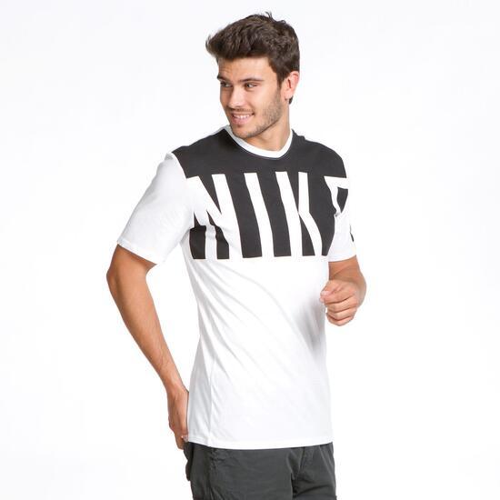 Blanca Sprinter Camiseta Nike Negra Blanco Hombre SMqGLVUzp
