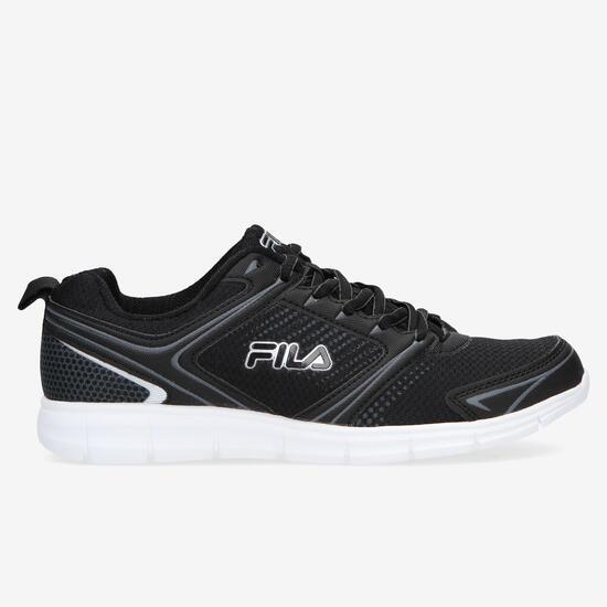 Fila Windstar 2 Zapatillas Running Negras Hombre - NEGRO  caca540444f15