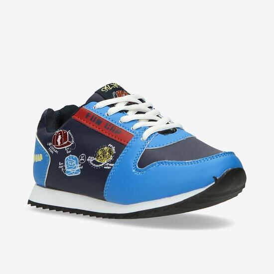 Sneakers Casual SILVER Azul Niño (36-39)