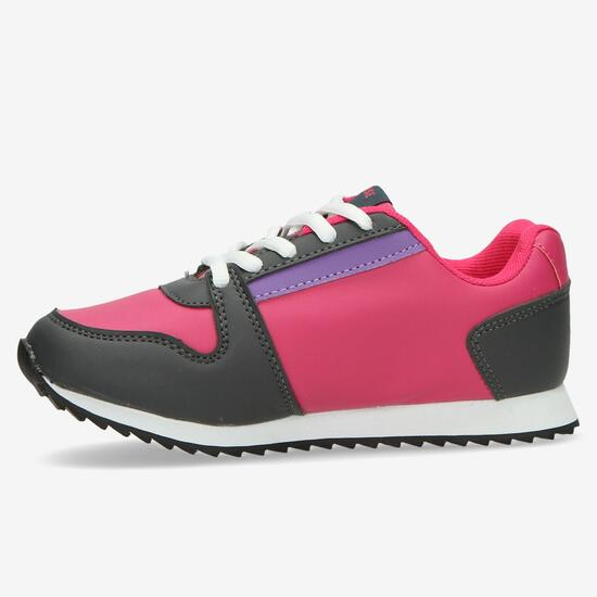 Sneakers SILVER Fucsia Gris Niña (28-35)
