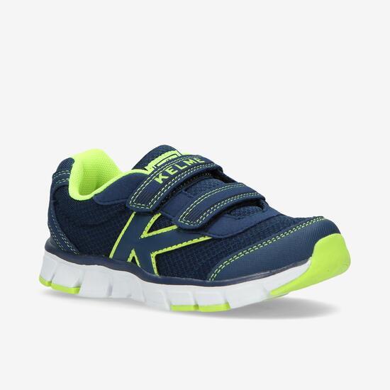 KELME Zapatillas Running Velcro Marino Niño (28-35)