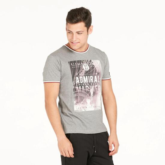FILA MOOR Camiseta Gris Hombre