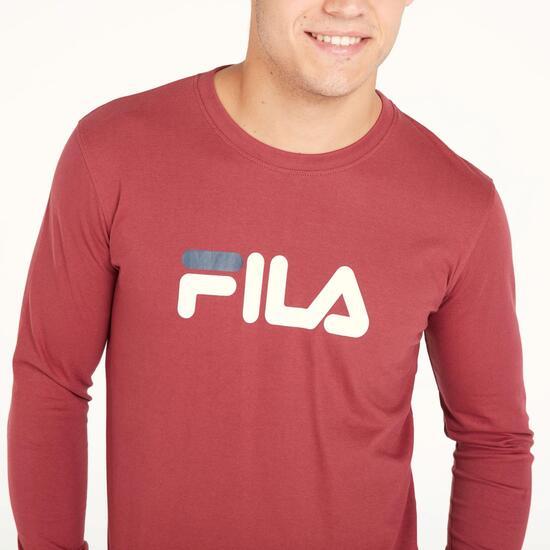 FILA EAGLE Camiseta Manga Larga Granate Hombre