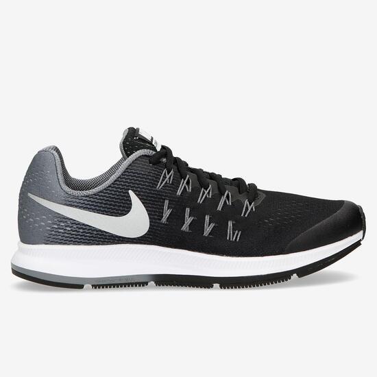 Zapatillas Running Nike Air Zoom Pegasus 33 Negras Niña (38-40)