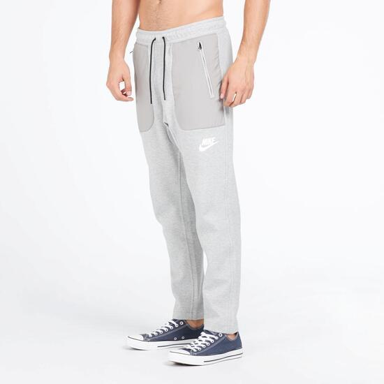 Sprinter Nike Hombre Cremallera Gris Bolsillos Pantalón Largo Ywx4Xq1PYr