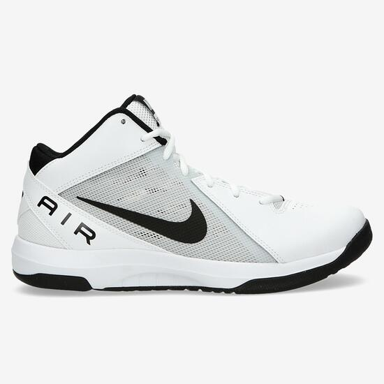 Nike The Air Overplay Botas Baloncesto Blancas Hombre - BLANCO ... abf32d6710590
