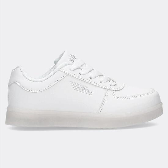 Zapatillas Luces Silver