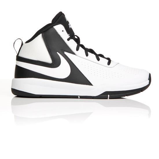 lowest price 51baa 145af NIKE TEAM HUSTLE Botas Baloncesto Blancas Niño (35,5-39)