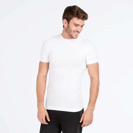 Camiseta Interior BORIKEN Sin Costuras Blanco Hombre