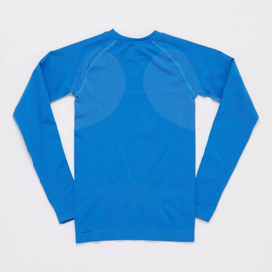 Camiseta Interior BORIKEN  Sin Costuras Azul Niño (10-16)