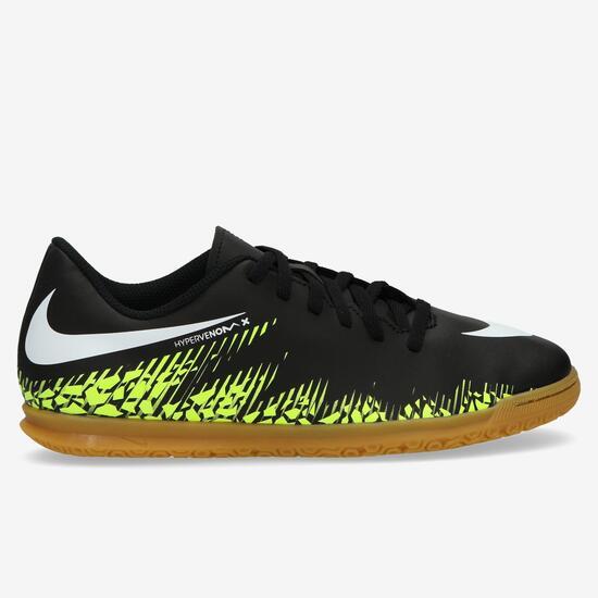 Nike Hypervenomx Phade Neymar Botas Fútbol Sala Niño Negro (35 5526038882a5d