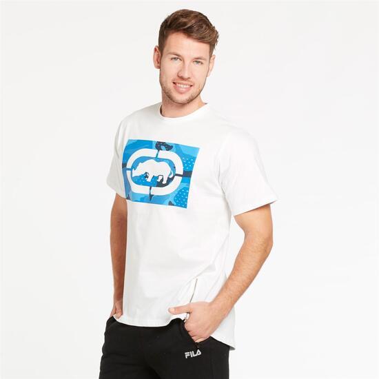 ECKO RESERVE Camiseta Blanca Hombre