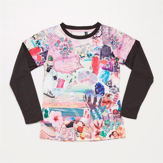 Camiseta Estampada SILVER Multicolor Niña (10-16)