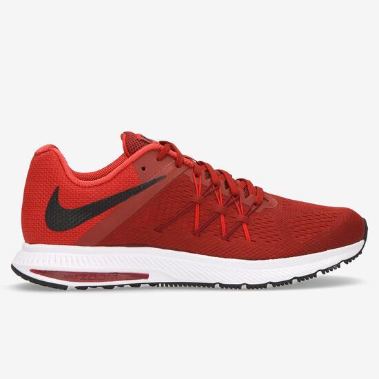 NIKE ZOOM WINFLO 3 Zapatillas Running Rojo Hombre