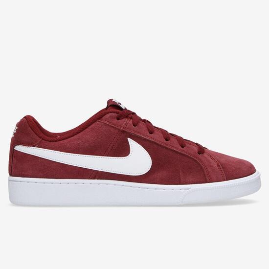 Nike Royale Court Zapatillas Serraje Granate Hombre npfrn64