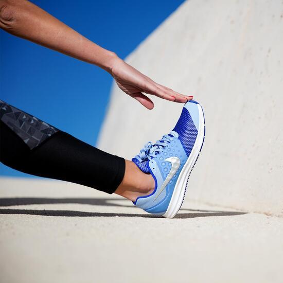 NIKE DOWNSHIFTER 7 Zapatillas Running Celeste Mujer