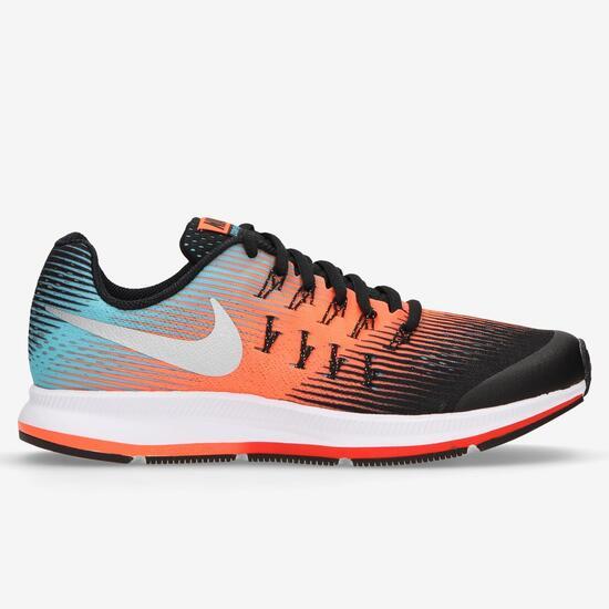 Zapatillas Running Nike Air Zoom Pegasus 33 Negras Niña (36,5-40)
