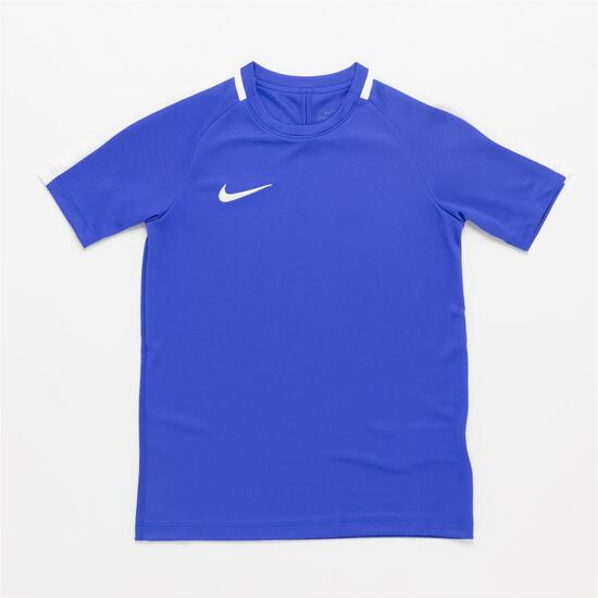 Nike Dry Academy Camiseta Fútbol Azul Niño (10-16) - AZUL  8f7e48414a979