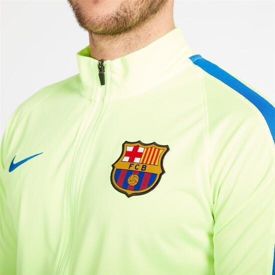 NIKE FC BARCELONA Chándal Azul Verde Hombre