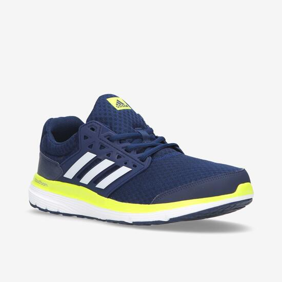 Zapatillas Running adidas Galaxy Azules Marino Hombre