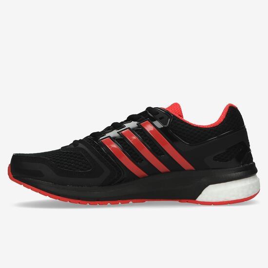 abbba19adb2 adidas Questar Boost Zapatillas Running Negro Rojo Mujer - GRIS ...