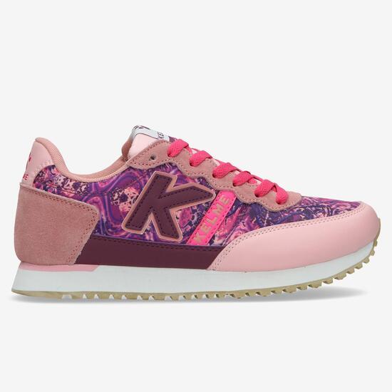 KELME Sneakers Retro Rosa Mujer