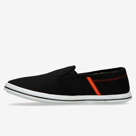 Zapatillas Sin Cordones Up Negro Hombre