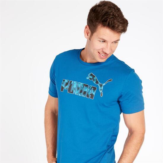 PUMA HERO Camiseta Manga Corta Marino Hombre